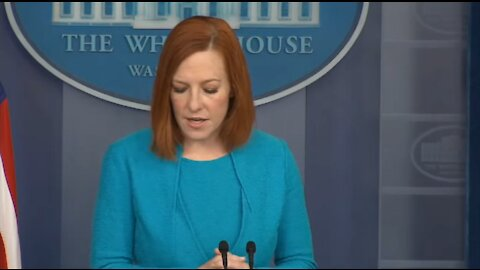COWARDLY: Psaki Dodges Questions About Biden's View of Court Packing Bill