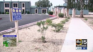 Apartment complex neighbors dealing with raw sewage overflow