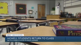 Students in Howell return to class