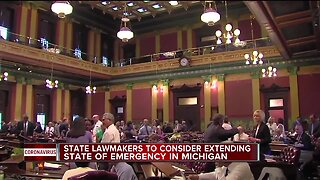 State lawmakers to consider extending state of emergency in Michigan