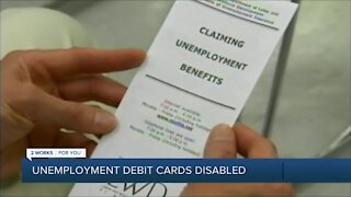 Oklahomans frustrated after unemployment debit cards disabled, flagged for fraud