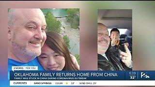 Oklahoma Family Returns Home From China