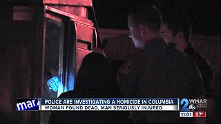 Police find dead woman, severely injured man inside Columbia apartment