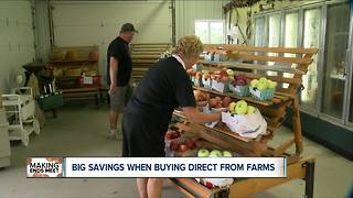 Save money during harvest time