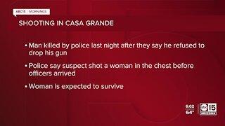 Man fatally shot by police in Casa Grande