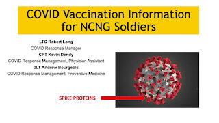 North Carolina National Guard Covid-19 Vaccine Briefing