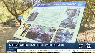 Native American history fills Escondido park