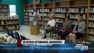 TUSD kicks off Attendance Awareness month