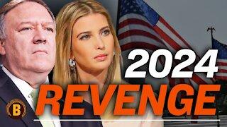 COMEBACK: Mike Pompeo & Ivanka Trump Campaign for 2024?; Trump and Biden Double Impeachment