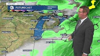 Increasing rain/storm chances