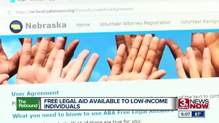 Free legal aid available to low income individuals