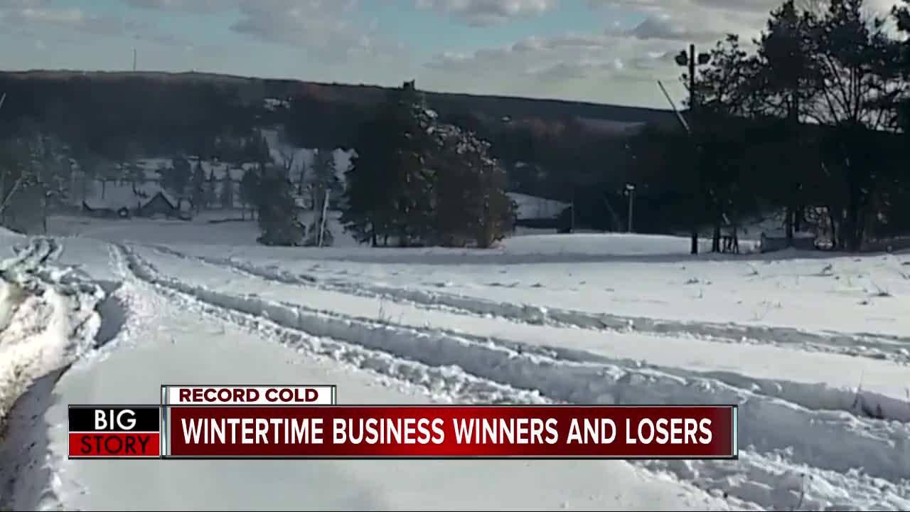Wintertime business winners and losers
