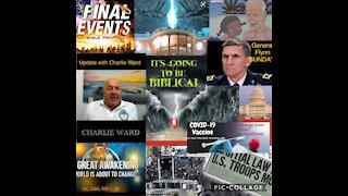 Charlie Ward, Financial System, Dates, Flynn, Biden Montage