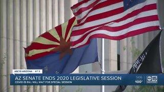Arizona ends 2020 legislative session