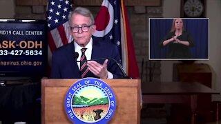 Governor DeWine's Monday COVID-19 update