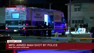 MPD: Armed suspect killed in officer-involved shooting in Milwaukee