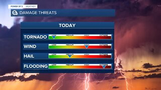 Power of 5 Meteorologist Trent Magill gives update on severe weather