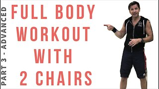 Full Body Workout with 2 Chairs / Part 3 ADVANCED
