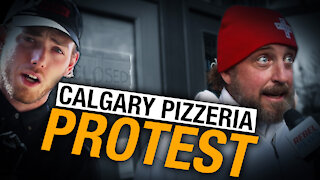 Vaccine choice at Without Papers Pizza top of mind for Calgary supporters