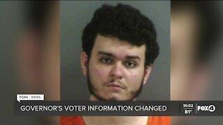 Naples man arrested for changing Governor DeSantis voter information
