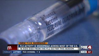 New data shows more people are getting sick from the flu