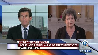 House holds debate ahead of impeachment vote