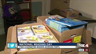 Fox 4 donates books across Southwest Florida