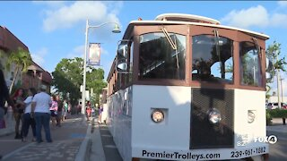 South Cape celebrates inaugural PRIDE Trolley Stops with trolley-style bar crawl
