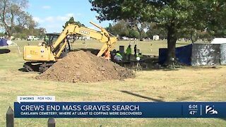 Crews End Mass Graves Search