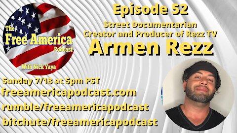 Episode 52: Armen Rezz