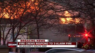 Fire destroys furniture store on Milwaukee's south side
