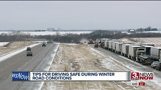 Driving safe during winter road conditions