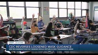 Oklahoma should follow new CDC mask guidance