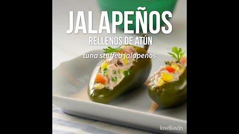 Tuna Stuffed Jalapeños