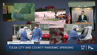 Tulsa City and County pandemic spending