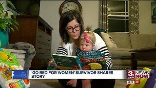 'Go Red for Women' survivor shares story