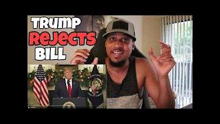 Trump Calls Stimulus/Spending Bill A DISGRACE! Demands 2K For Stimulus Checks