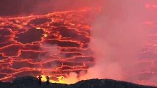 All'avventura su un vulcano attivo!