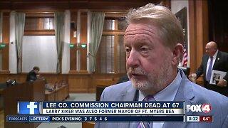Lee County commissioner Larry Kiker passes away