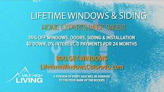 Home Experts Sale // Lifetime Windows & Siding