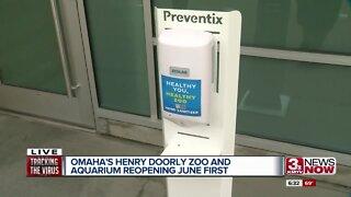 Omaha's Henry Doorly Zoo and Aquarium reopening June 1 Pt 2