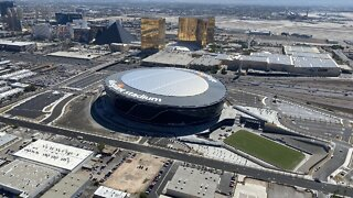 Raiders' newly-finished Allegiant Stadium closed to fans for 2020