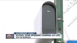 Buffalo school zone speed cameras go live Monday