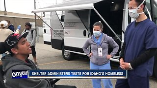 Homeless can now be tested for COVID-19 at a Boise shelter
