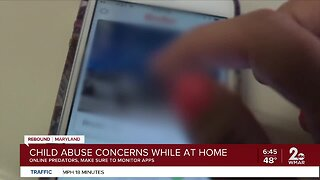 Child abuse concerns while at home