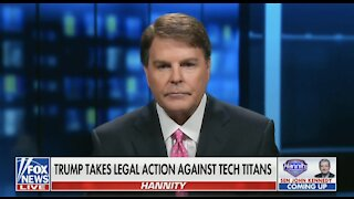 Trump Takes Legal Action Against Tech Titans