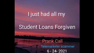 No student loan forgiveness for Trump U