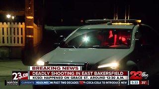Man Shot Dead in East Bakersfield