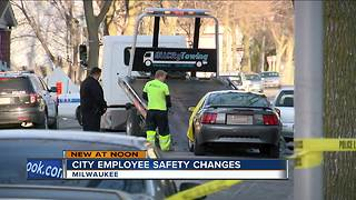 City employee safety changes
