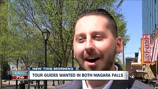 Niagara Falls tour guides wanted